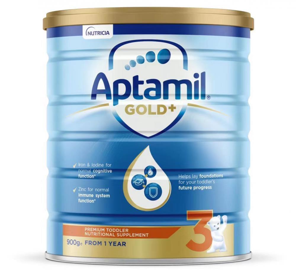 爱他美 Aptamil 金装 3 段(1岁以上)婴儿奶粉 整箱六罐包邮