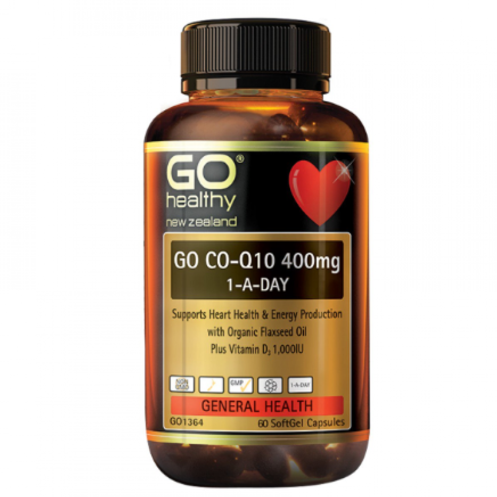 Go Healthy 高之源辅酶Q10 400mg 60粒