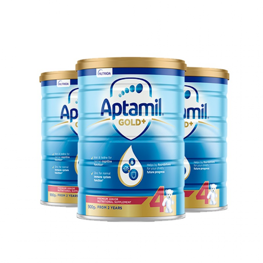 爱他美 Aptamil 金装 4 段(2岁以上)婴儿奶粉 整箱六罐包邮