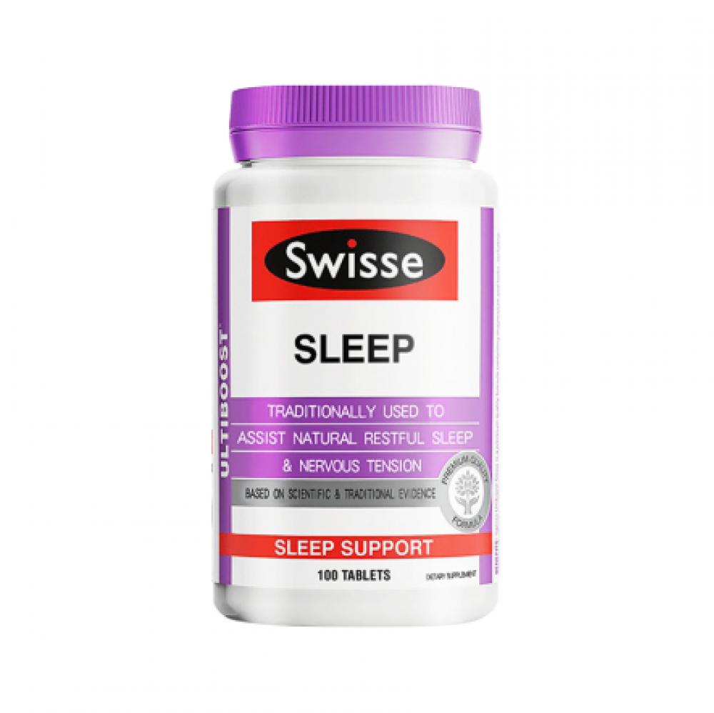 Swisse 助睡眠片100粒舒缓压力改善睡眠