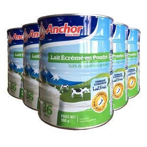 Anchor 安佳 罐装脱脂奶粉 900g*6罐 包邮