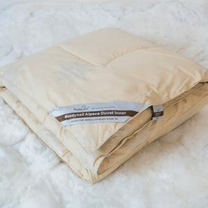 牧笛奈尔 2.20*2.40 防虫防螨 高端印花磨毛100%纯羊驼毛被Moody Nail
